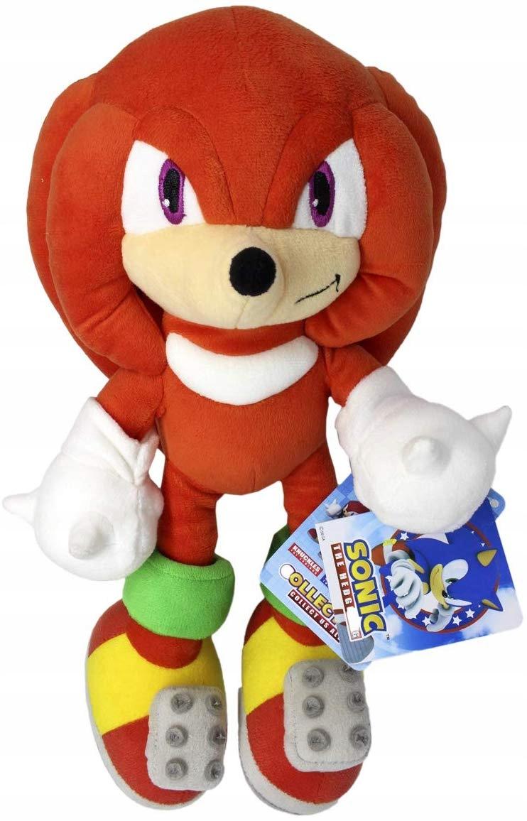 Zvukový maskot Sonic s jemnou hračkou cca 30 cm