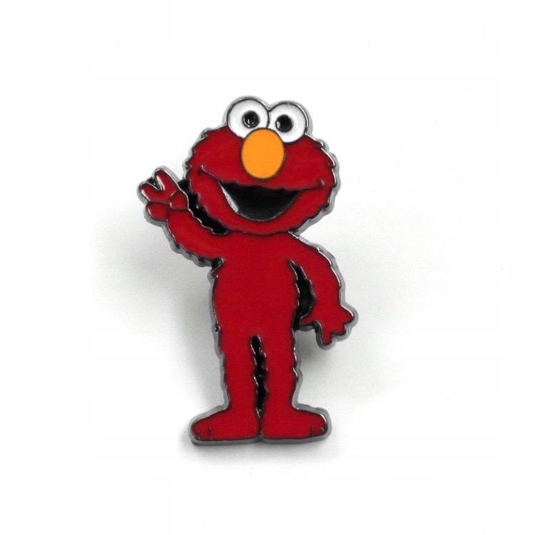 Pins Elmo przypinka Ulica Sezamkowa