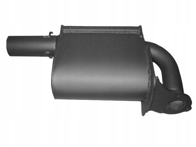Глушитель выхлопных газов JCB 3CX 4CX 331/52383