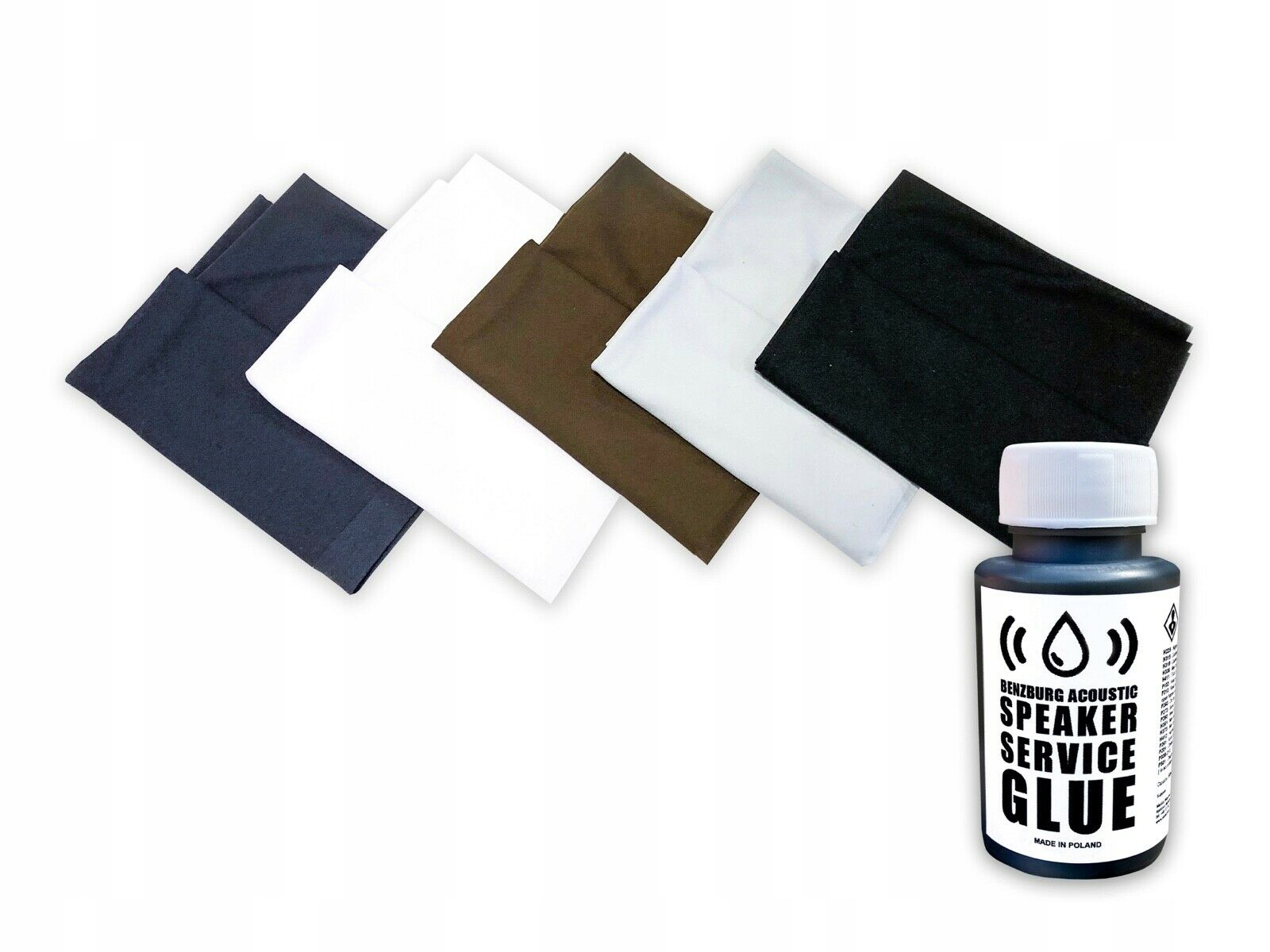 Materiálová tkanina pre 1m2 Masky + Silné lepidlo!