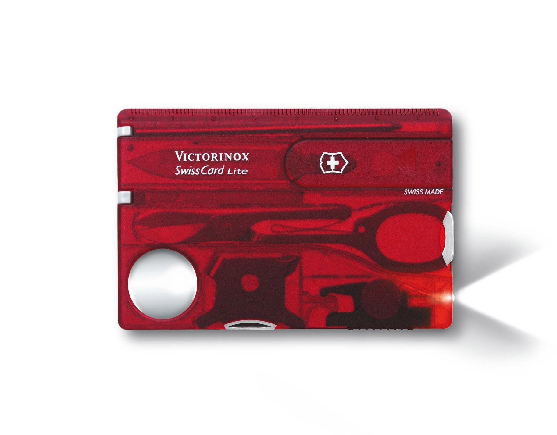 Nastaviť Victorinox SwissCard Lite Rubín (0.7300.T)
