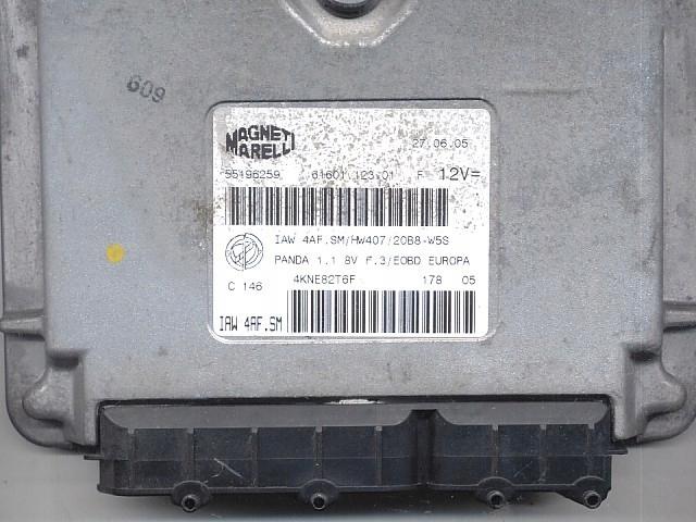 компьютер fiat панда 11 iaw4afsm чистый без иммо