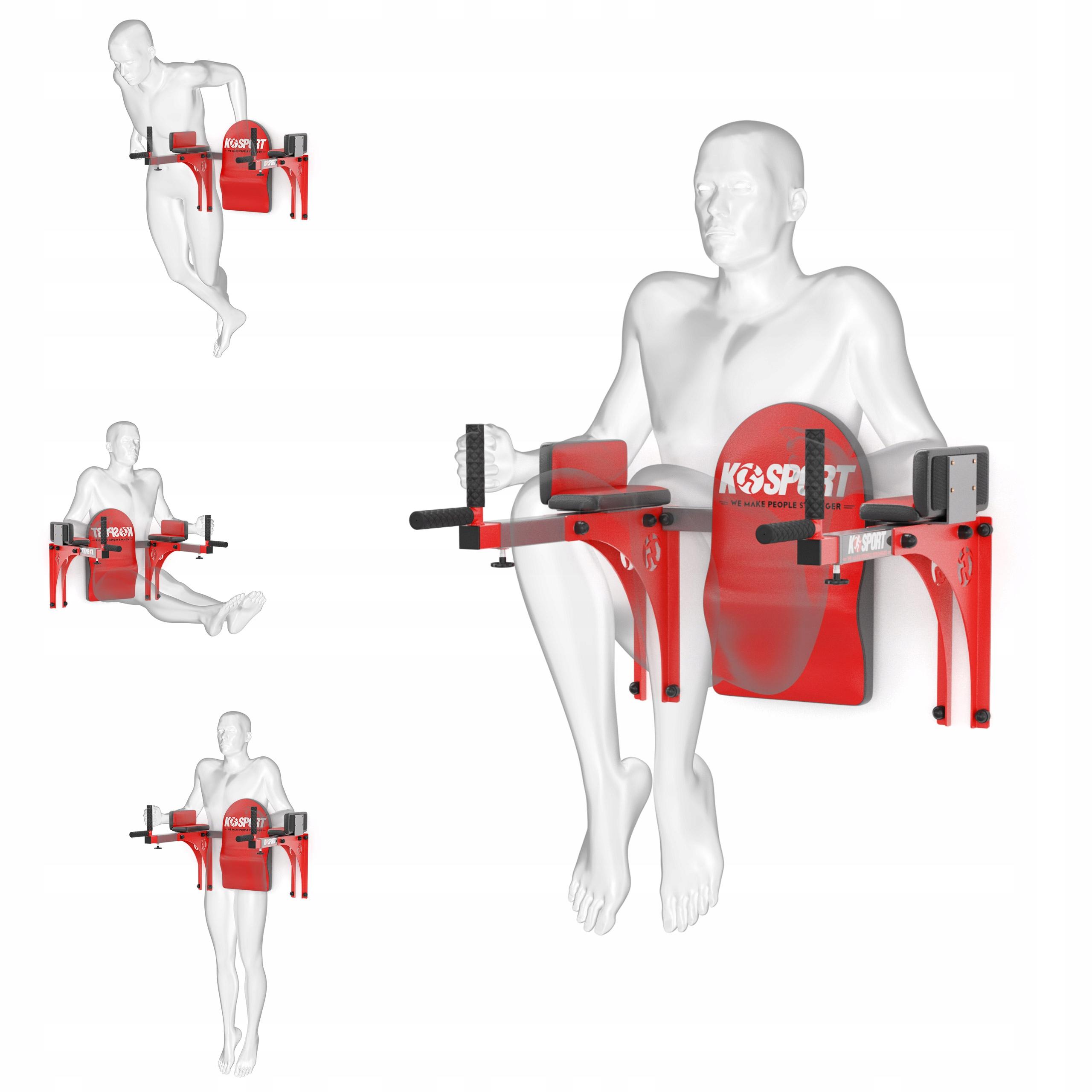 Nastaviteľné zábradlia svalových cvičení kssl015