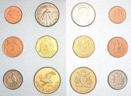 MALAWI zestaw 6 monet