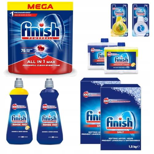 Dokončiť Nastavenie pre Umývačka riadu Všetko v Jednom 76 XXL 9 Ks