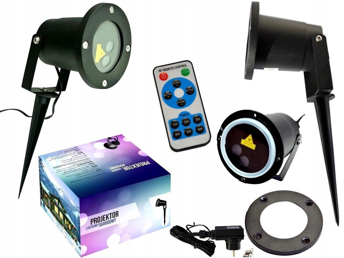 Mobilný LASEROVÝ disko projektor Prom