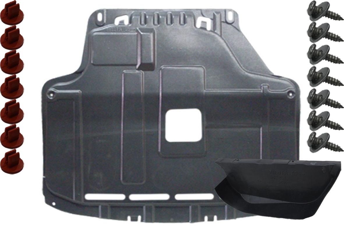 Ford Fiesta MK7 VII 08 - защита двигателя бок запонки