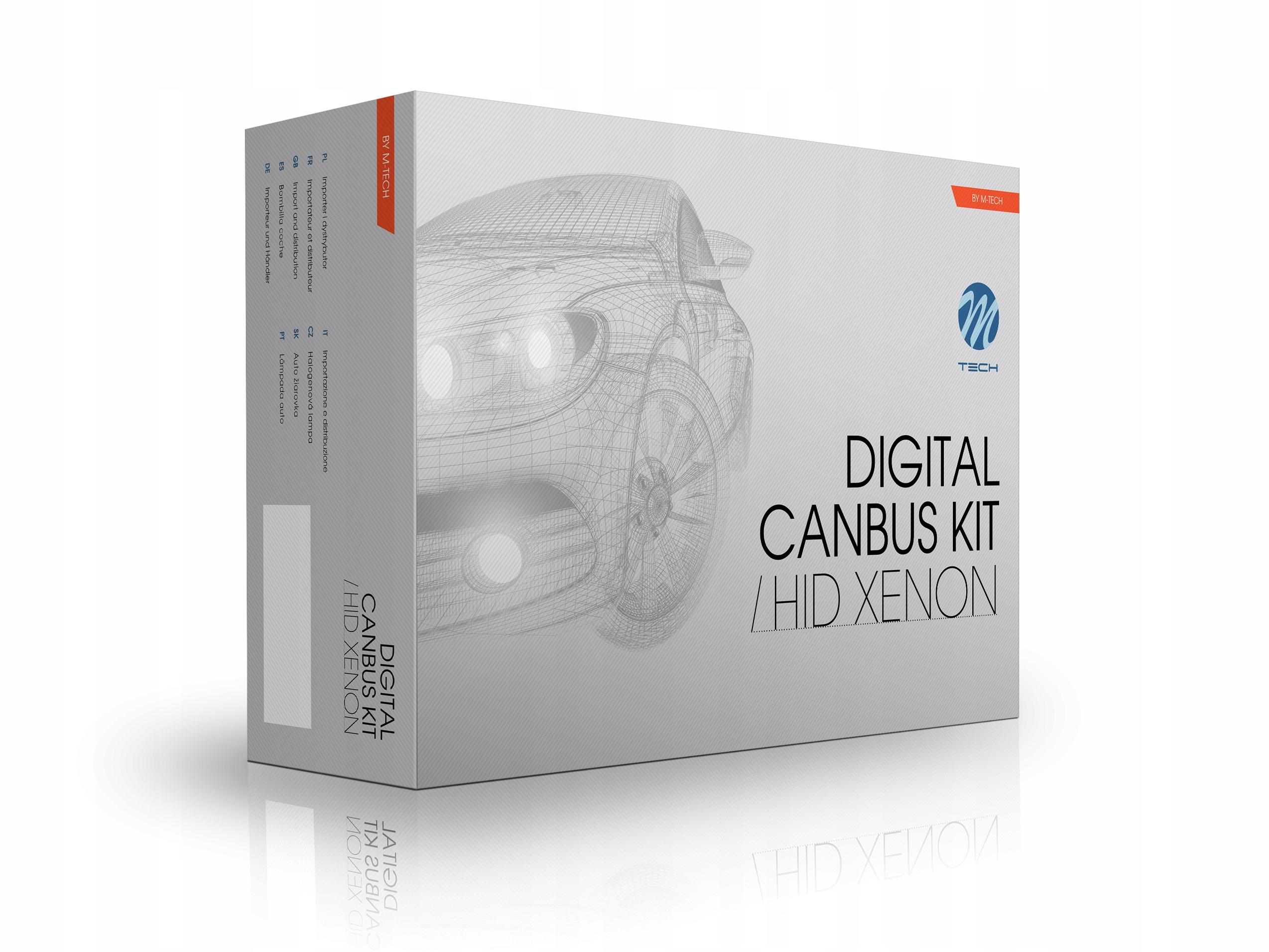 комплект ксенон hid h1 h7 43006000 m-tech canbus pro