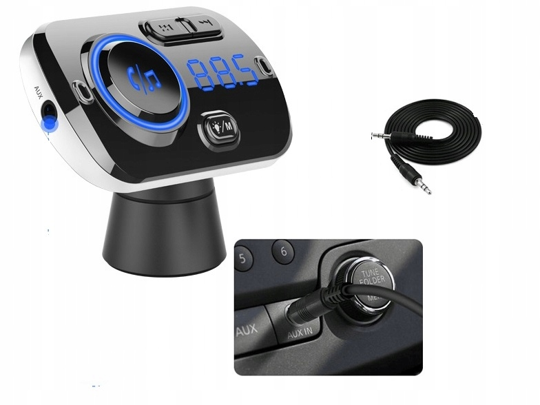 [Многофункциональный FM-ПЕРЕДАТЧИК 2x USB BLUETOOTH MP3]изображение 3