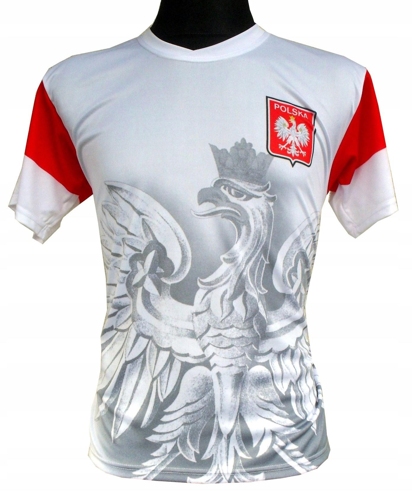 Futbalové tričko Poľsko: Veľký Eagle XXL