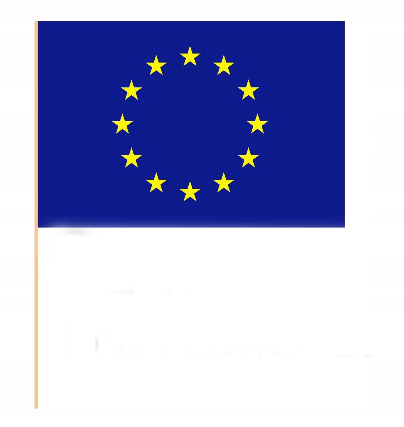 Треугольник Европейский Союз Флаги 100шт доставка товаров из Польши и Allegro на русском