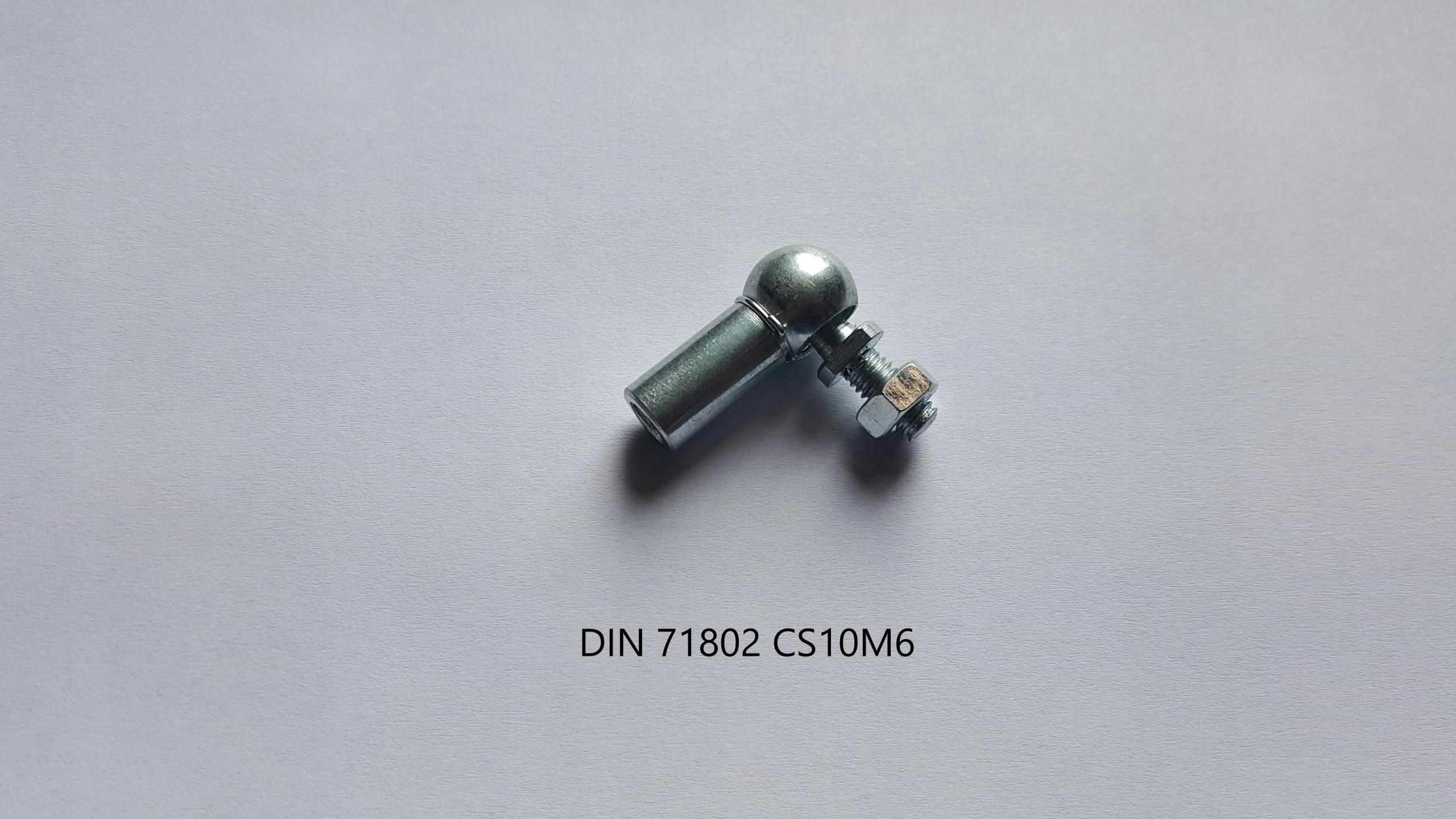 Przegub kątowy kulowy BLM M6 łącznik xenon komplet