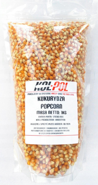 kukurydza popcorn ziarno 5kg bez soli