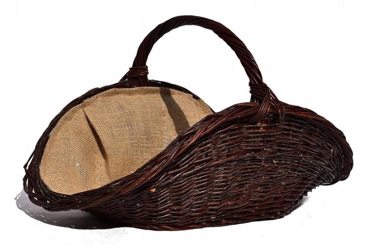 Корзина плетеная на дрова Плетеная Камин