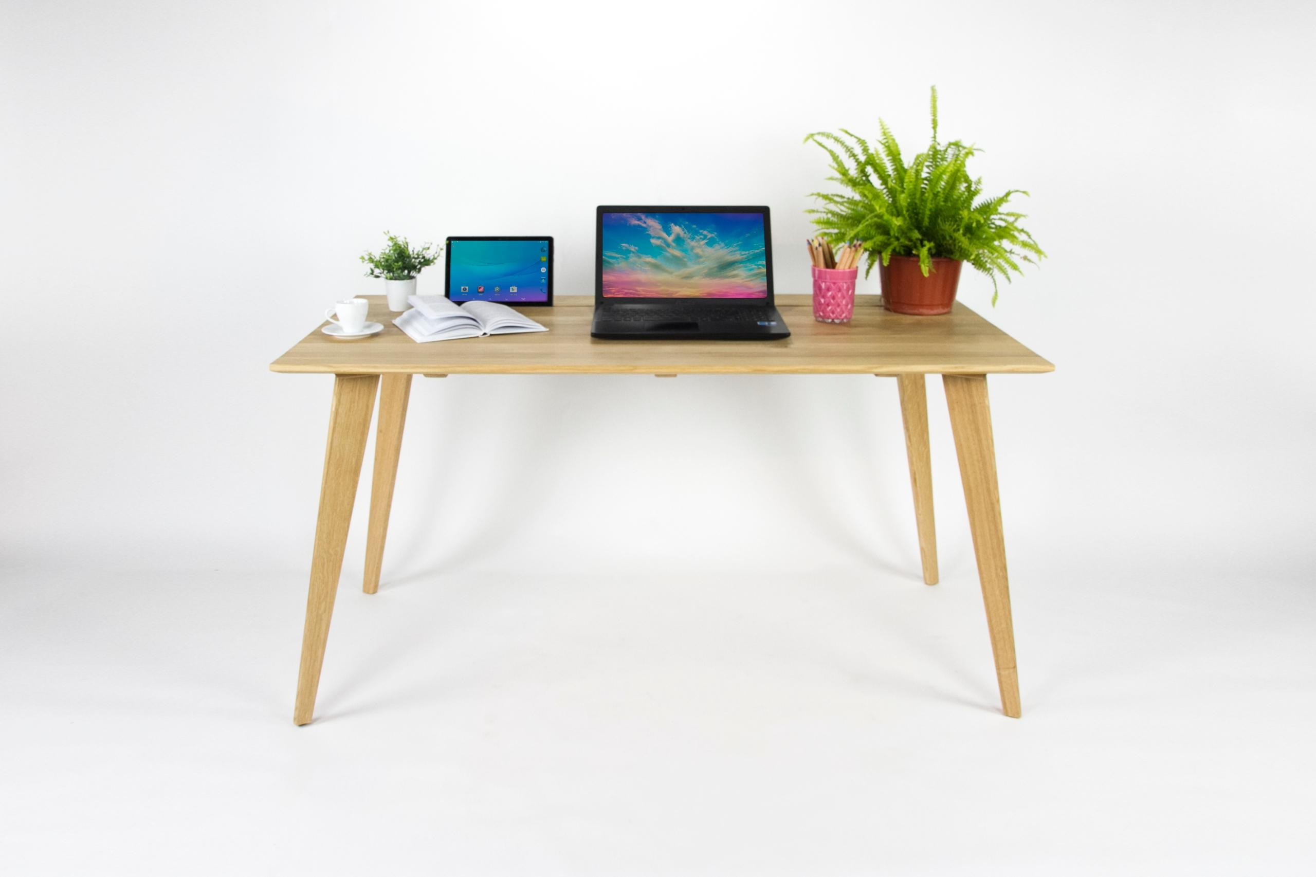 Drevené počítač, písací Stôl, hornej poličky, dub lite