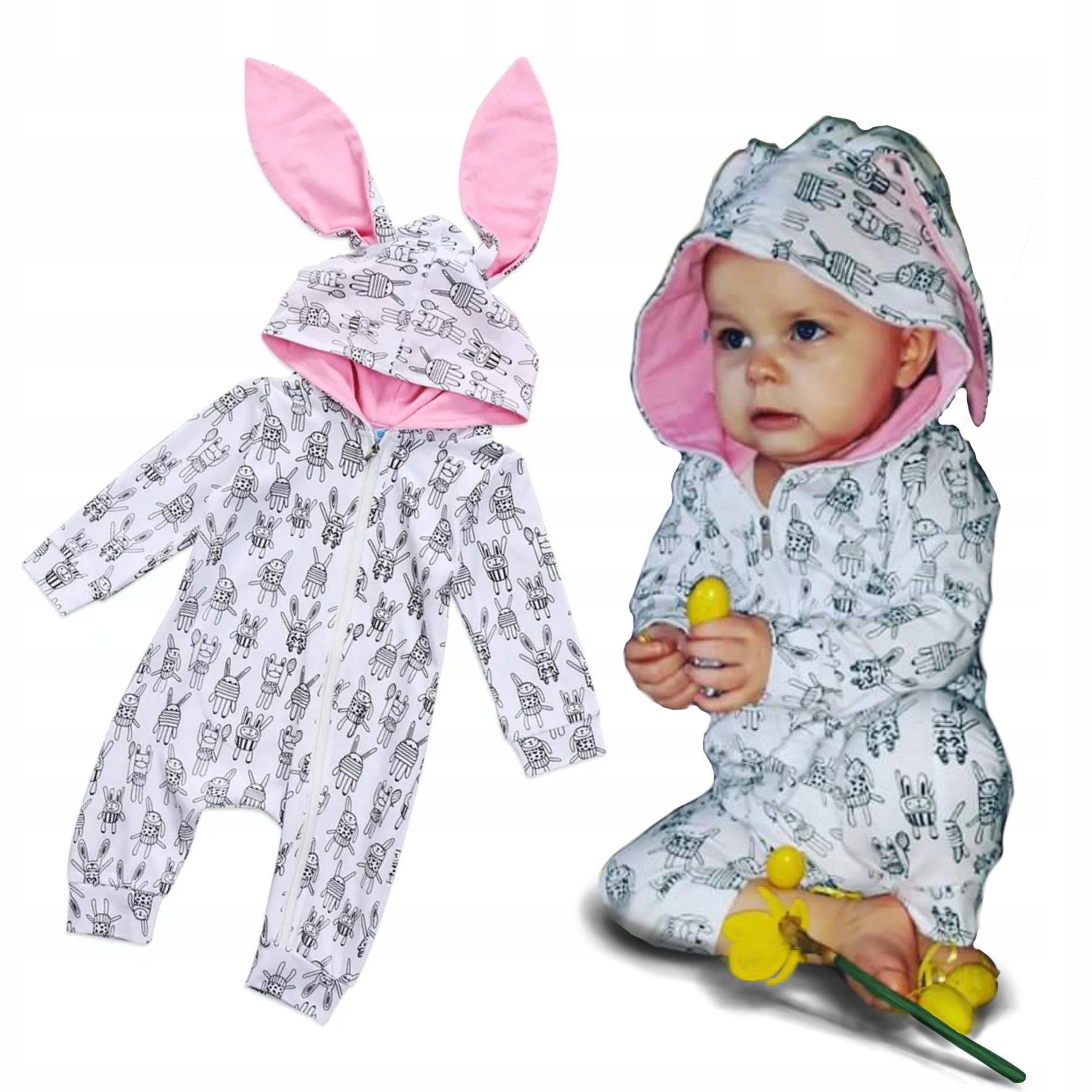 Pajacyk Bunny vyhovovali VEĽKONOČNÉ SVIATKY 68 74 80