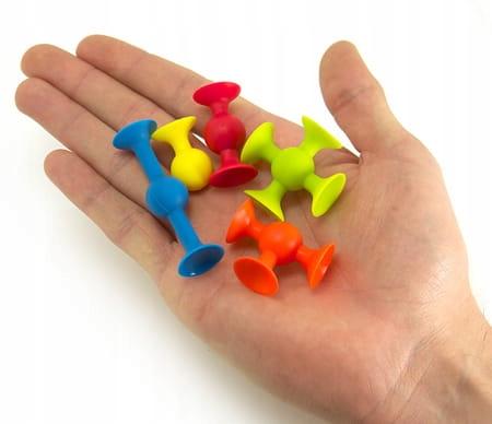 Fat Brain Toys Mini Squigz Przyssawki 75El, FA107 Liczba elementów 75 szt.