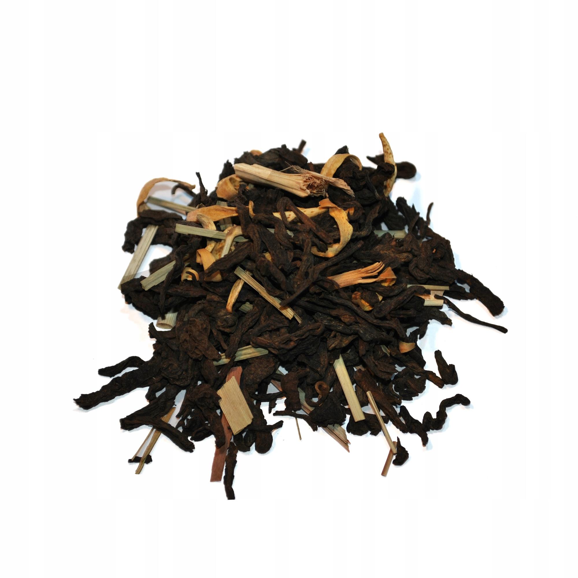 Herbata Czerwona Pu-Erh Kaktusowa 50g
