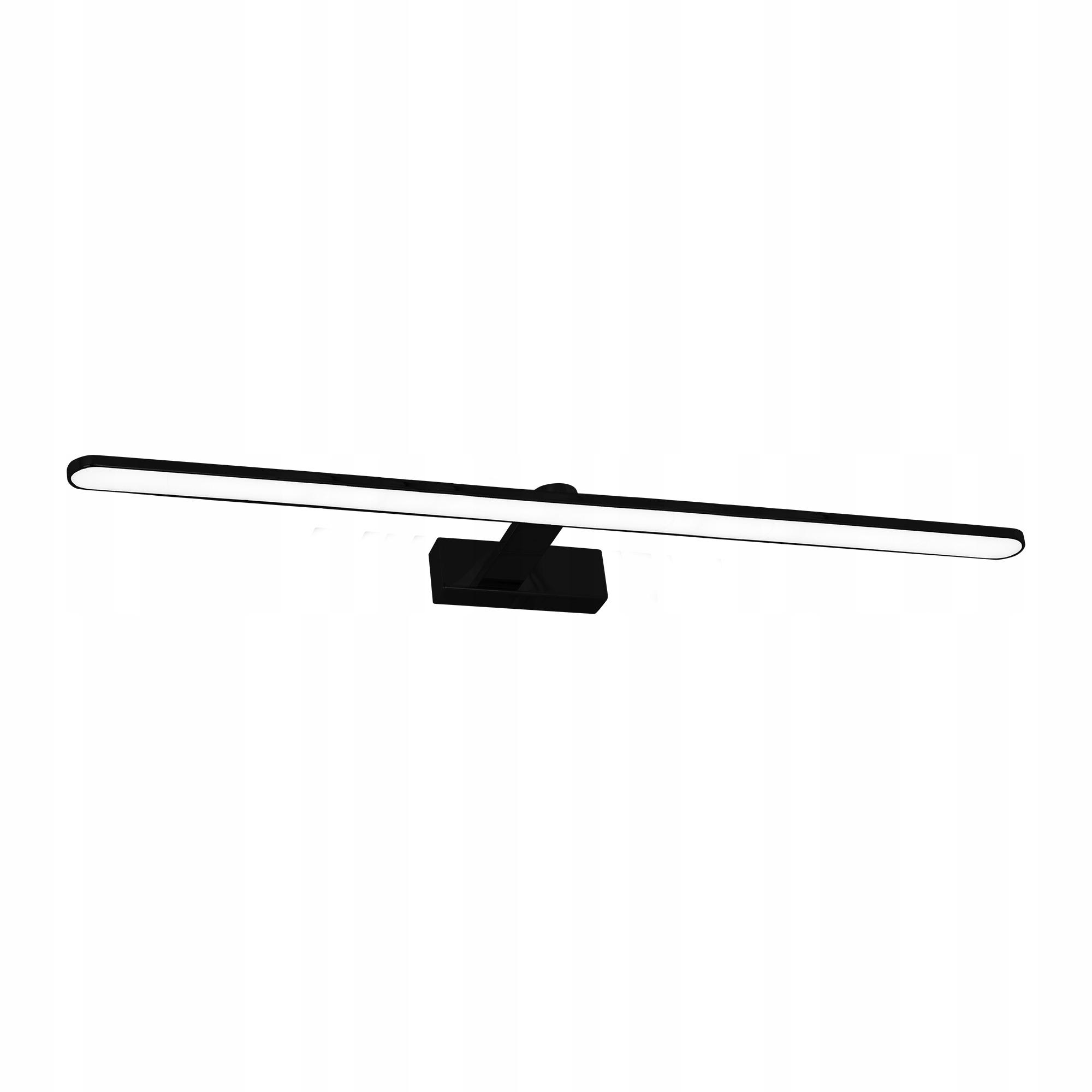 Elegantné nástenné svietidlo pre kúpeľňa Led IP44 21W čierna