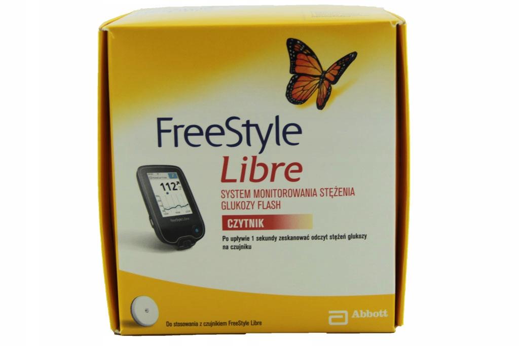 Freestyle Libre glukometr SAM CZYTNIK bez sensorów