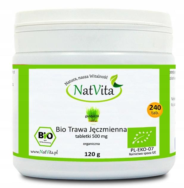 Купить NatVita BIO YOUNG GREEN BARLEY таблетки 500 мг на Otpravka - цены и фото - доставка из Польши и стран Европы в Украину.