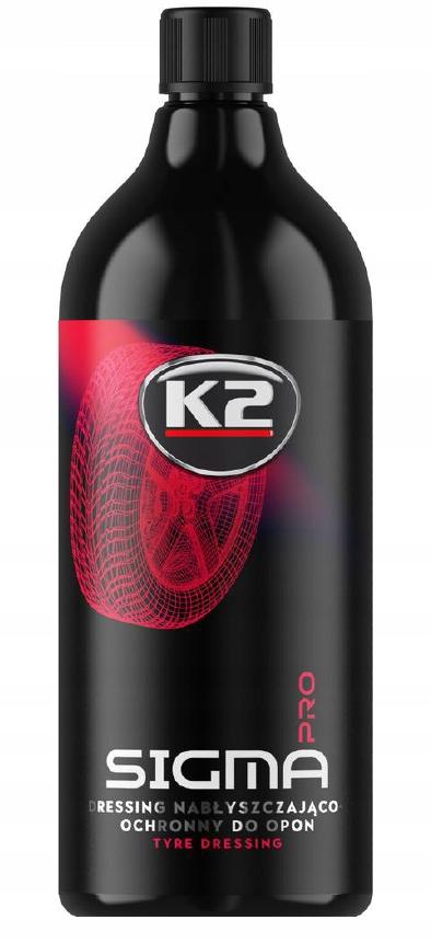 K2 SIGMA PRO 1Л соусом czernidło для шины,пластик