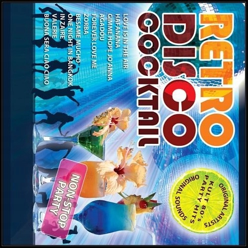 RETRO DISCO KOKTAIL, 1 CD NON STOP STRANA + MIX