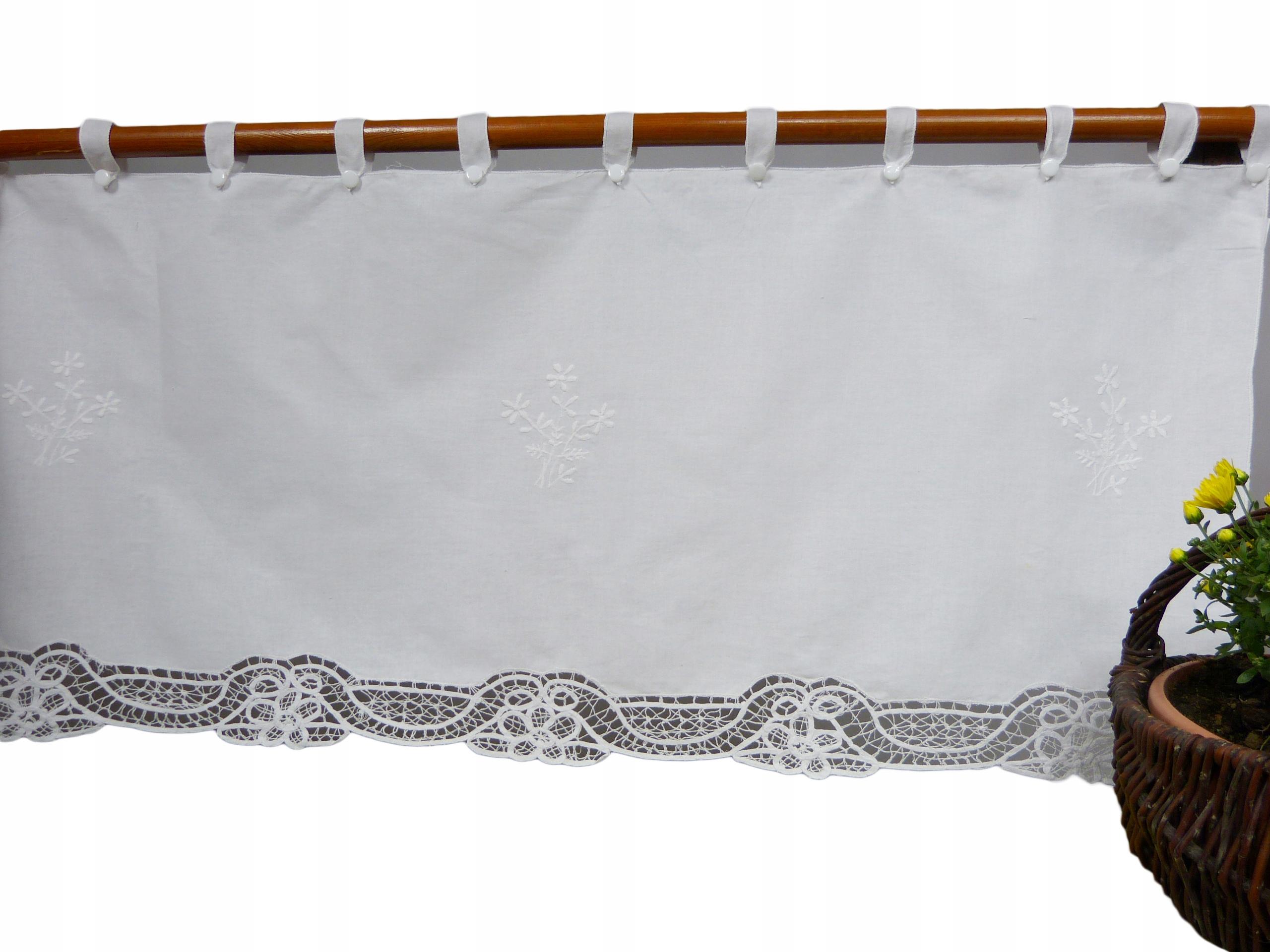 Zazdrostka opony čipky 0,5 metra biela RETRO1
