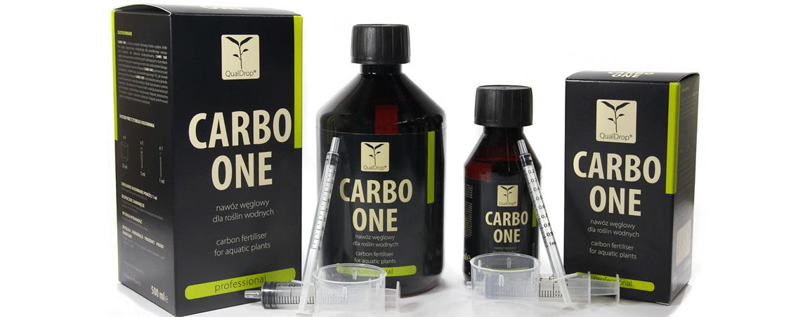 CARBO ONE CO2 W PłYNIE 500ML QUALDROP E-
