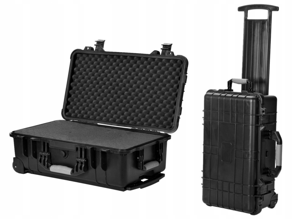 Item The protective carrying case on wheels cartridge foam