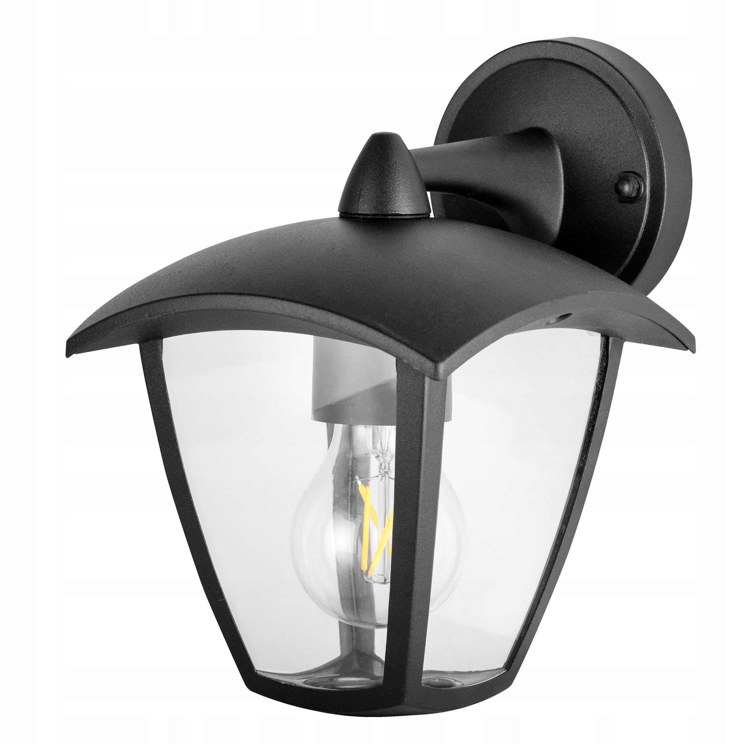 Lampy Záhradné Lampy Vonkajšie Nižšie BLACK LED