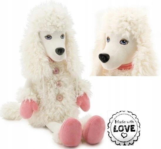 Mazľavý pes MOLLIE - MISS BOXES - 57cm