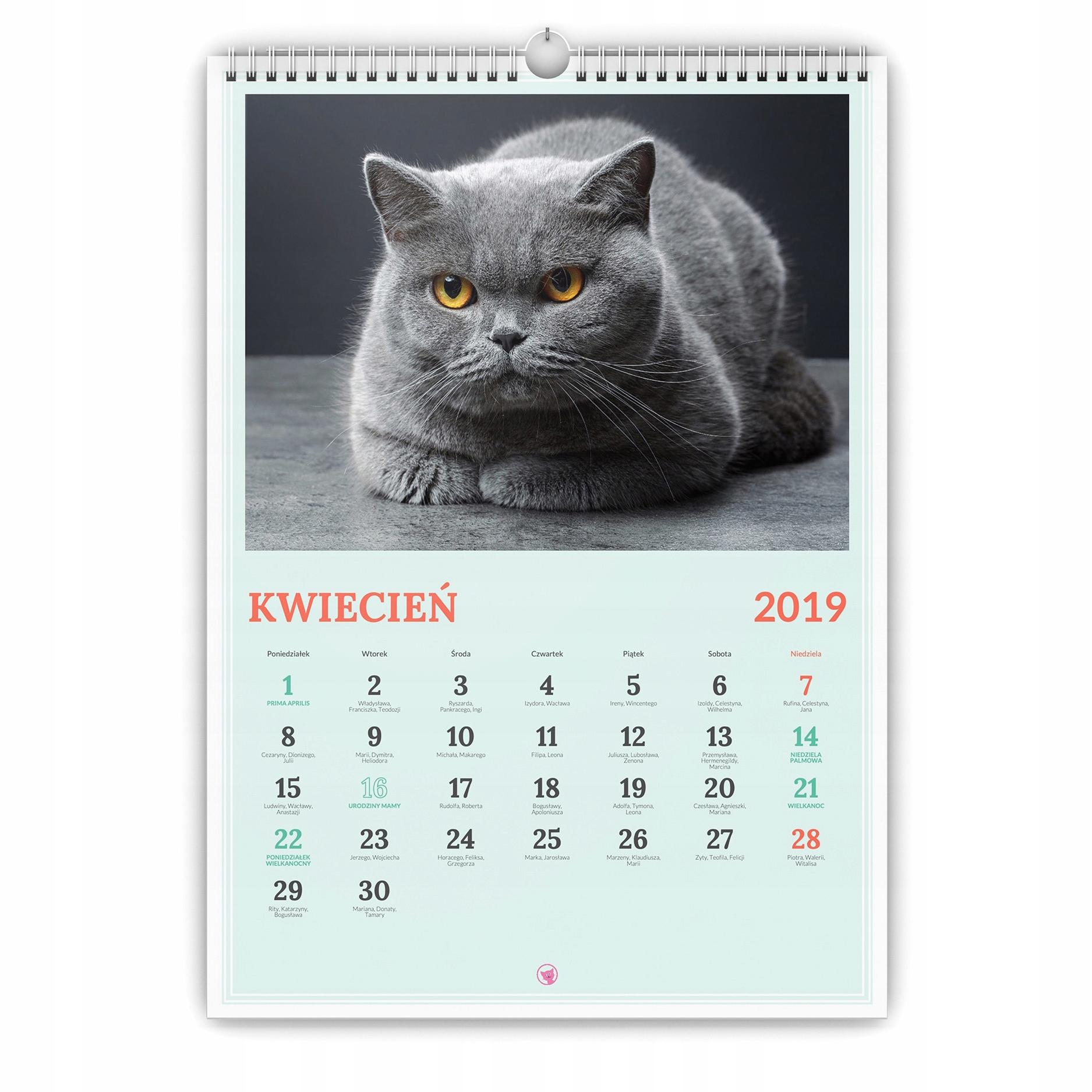 Fotokalendarz A3 Фото календарь с фотографиями ДАТЕ