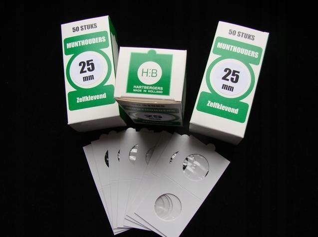 Holdery HARTBERGER для монет 25 мм уп. 50 шт ! доставка товаров из Польши и Allegro на русском