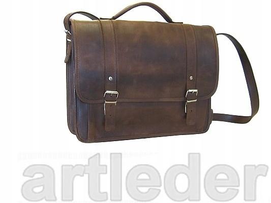 Retro kožená taška LAPTOP 17 palcov VÝROBCA