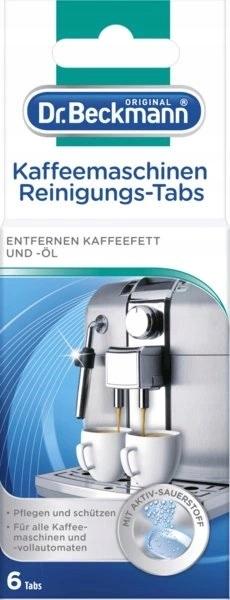 Dr Beckmann Tabletki czyszczenia ekspresu kawy 6