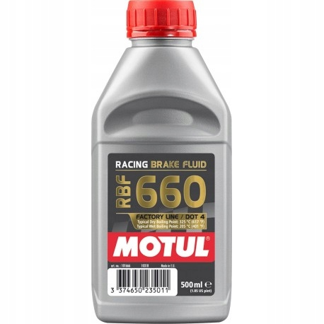 Motul DOT4 RBF 660 Тормозная жидкость ДЛЯ СПОРТА