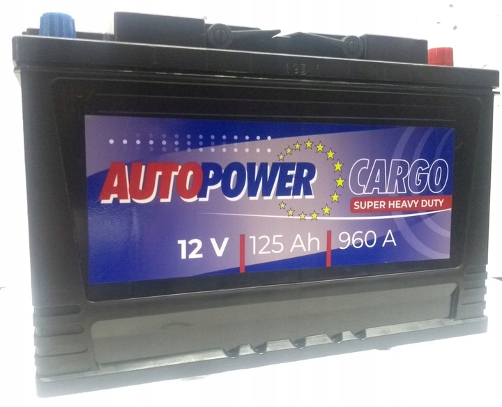 аккумулятор autopower cargo 12 v 125 ах 960 a