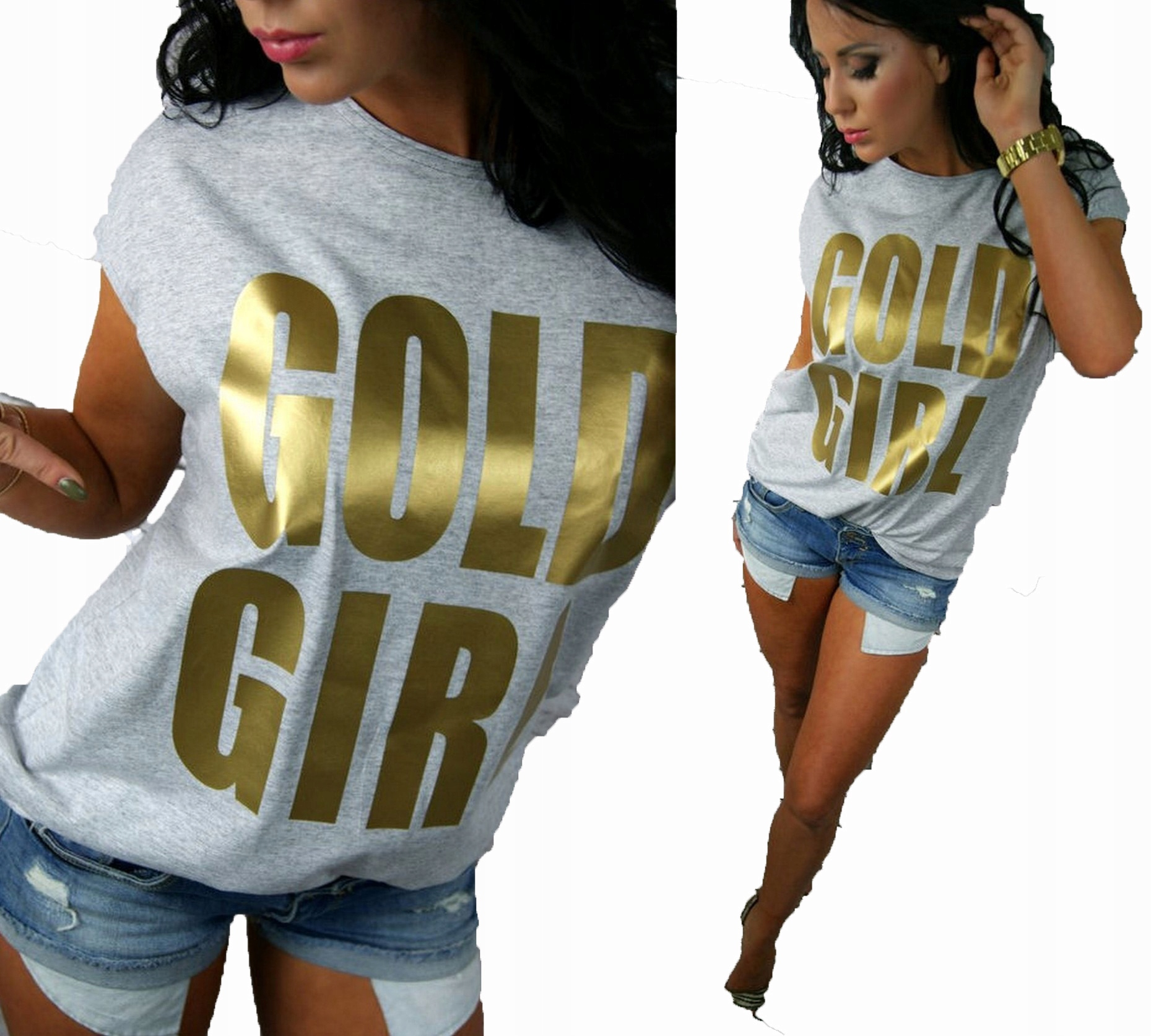 LipMar Oryginalna Gold Girl Print S 36