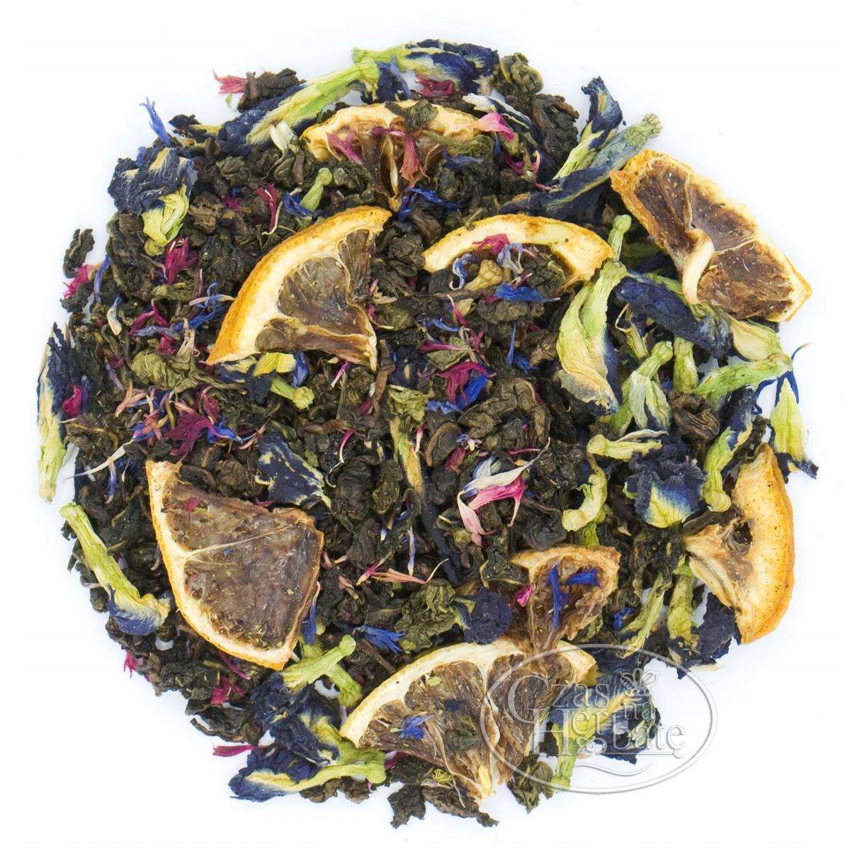 Czas na Herbate herbata Oolong cytryna klitoria