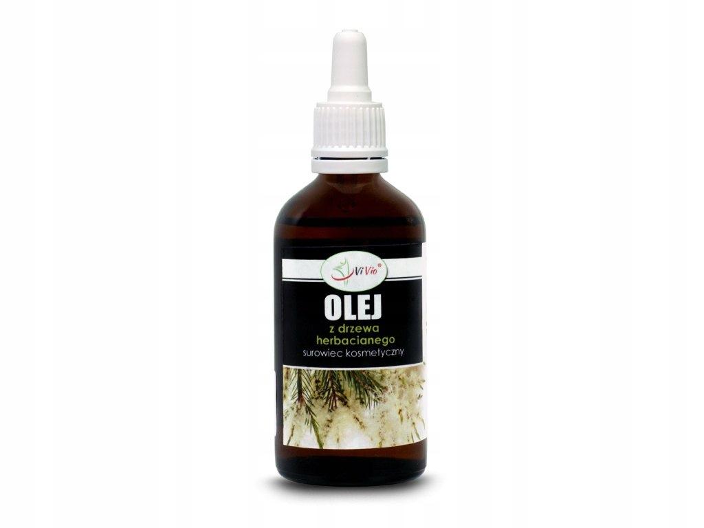 OLEJ Z DRZEWA HERBACIANEGO Tea Tree Oil 100% 100ml