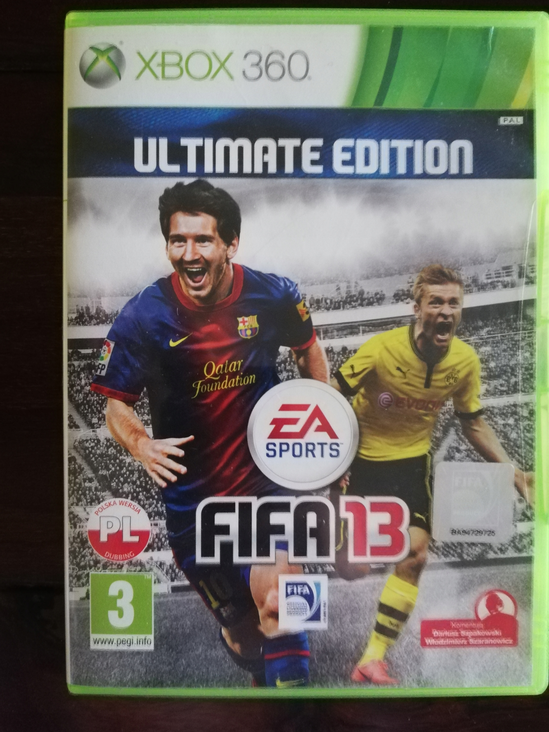 Gra Xbox360 Fifa 13 Ultimate Edition Stan Uzywany 9080922136 Allegro Pl