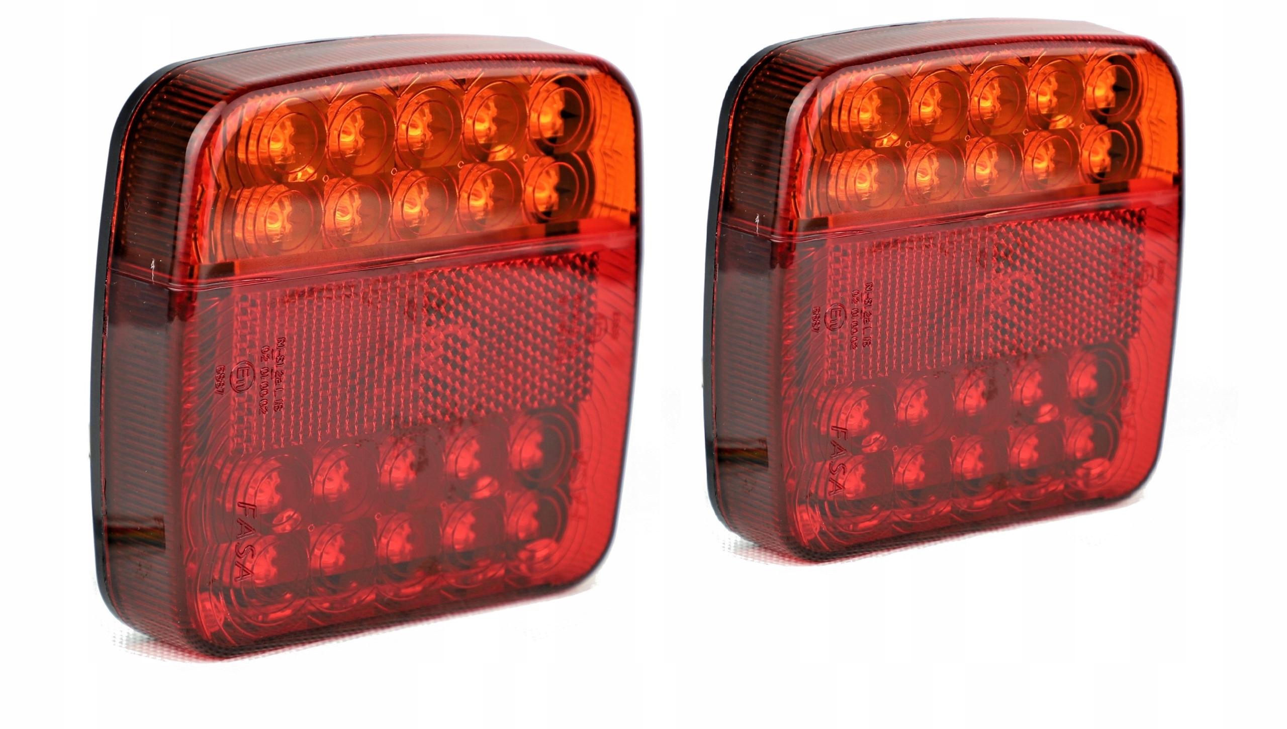 лампа led мост фонарь комплект прицеп 12v