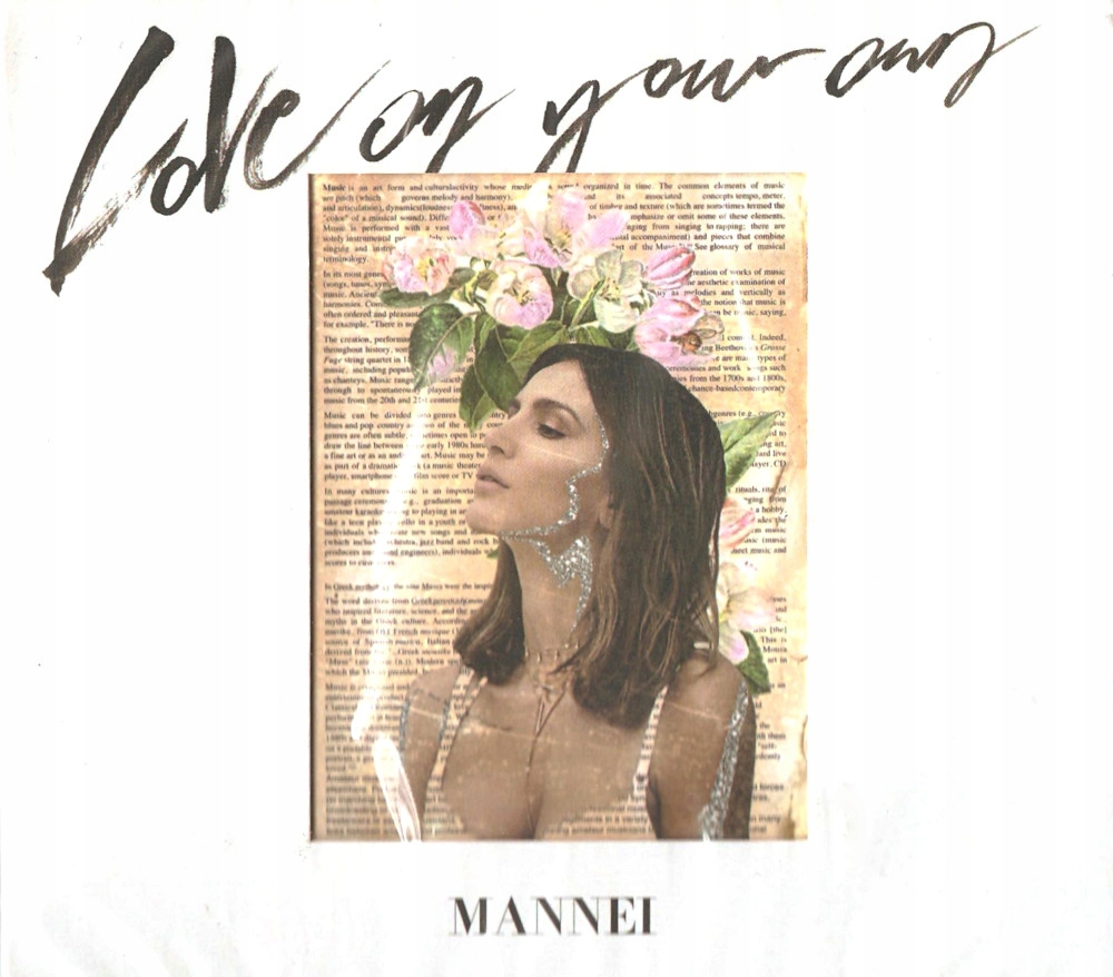 SARA MANNEI  LOVE ON YOUR OWN CD