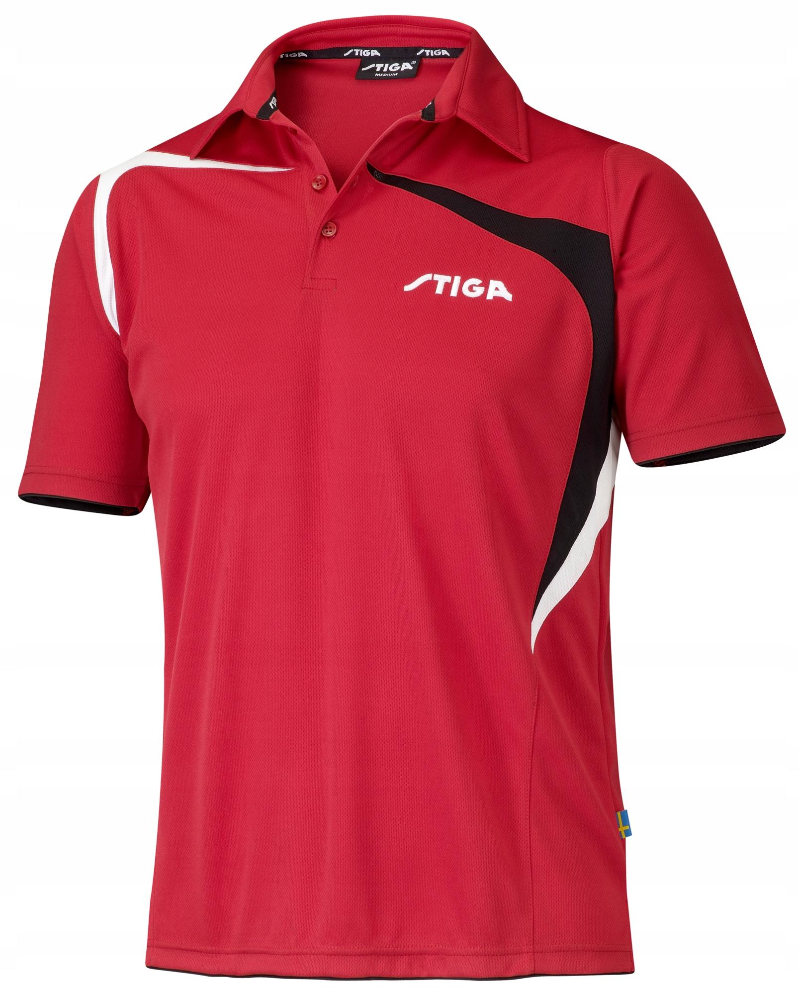 STIGA t-shirt INTENZÍVNE červené ruže. XXL
