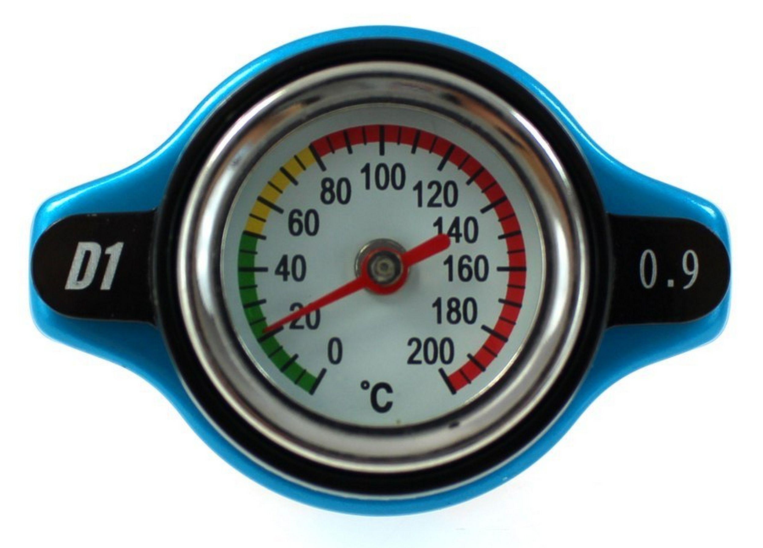 пробка настой радиатора 15mm 09bar d1spec термометр