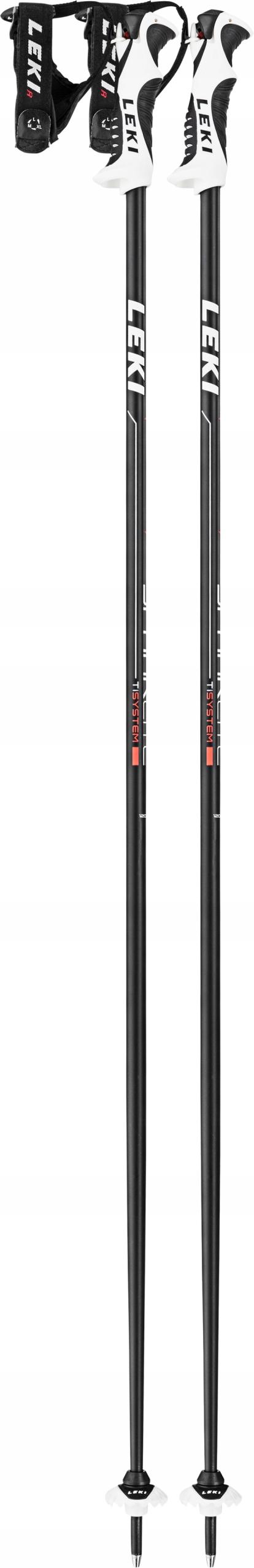 LEKI SPARK Lite S Kijki zjazdowe narciarskie 120cm