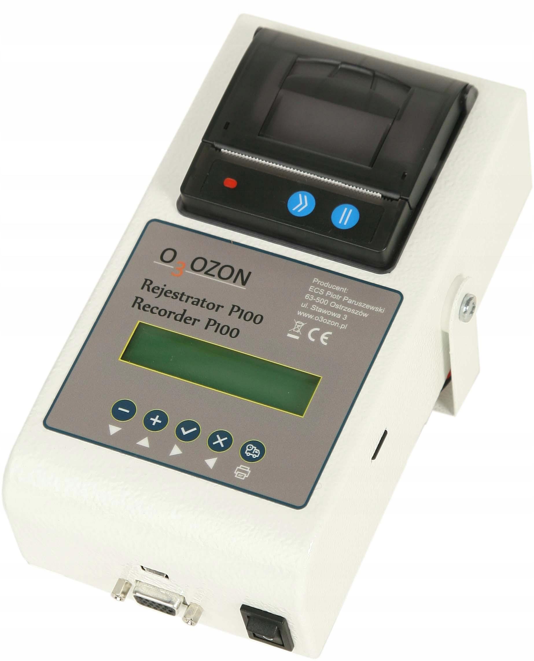 термографом регистратор температуры p100 z принтером