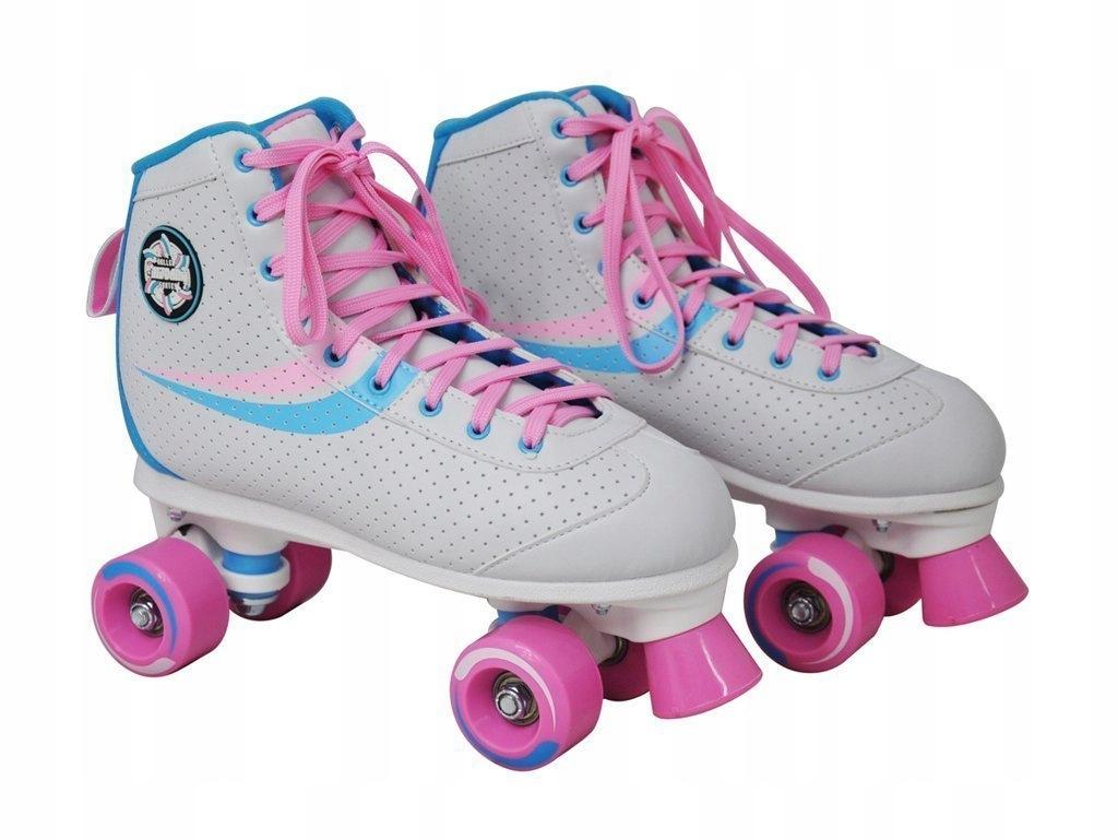 Dievčenské retro kolieskové korčule Nijdam 39