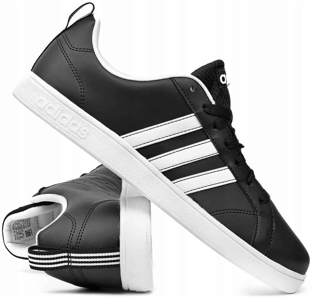 Мужская обувь Adidas Advantage F99254 Черные р. 43 доставка товаров из Польши и Allegro на русском